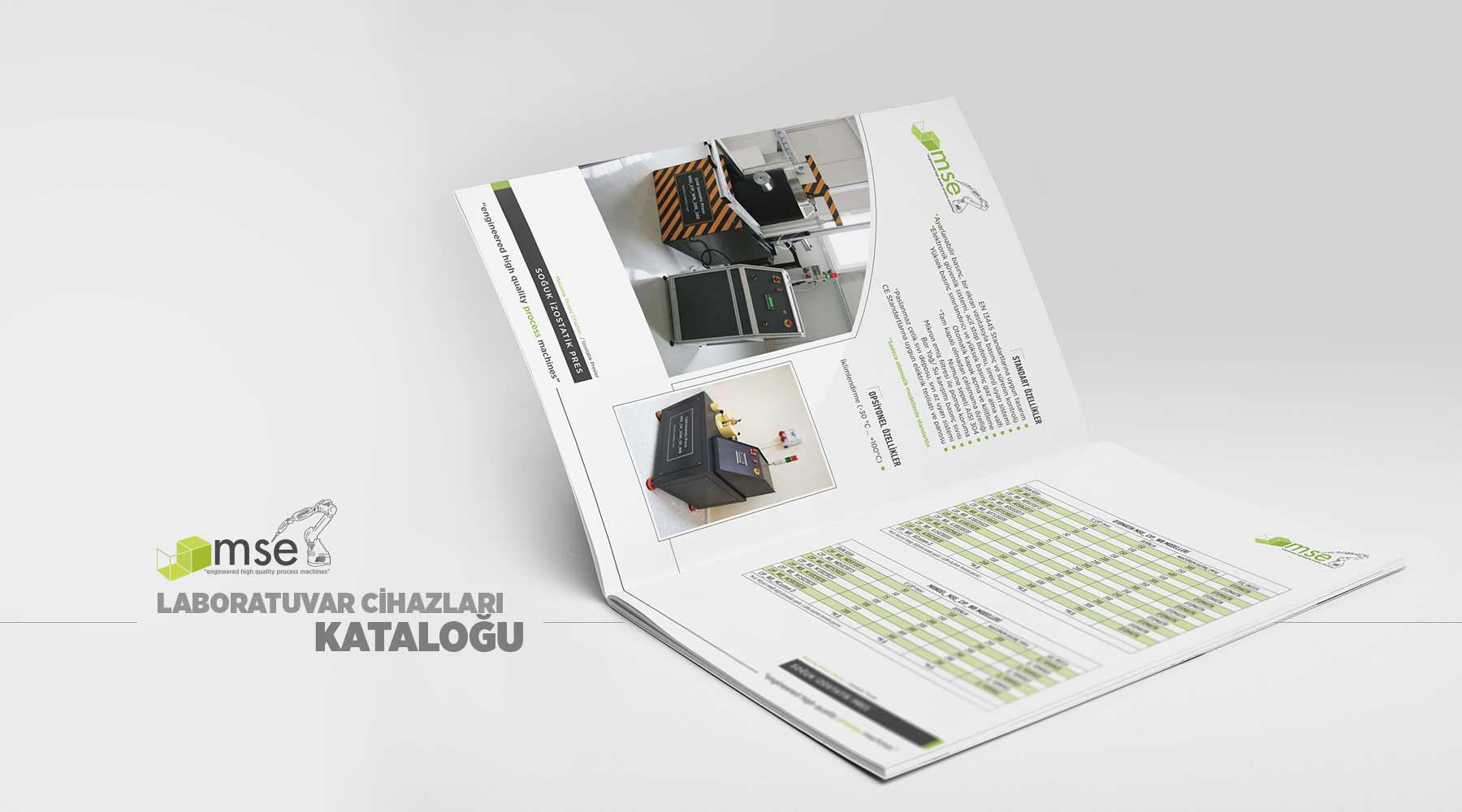 Mse Teknoloji katalog tasarımı