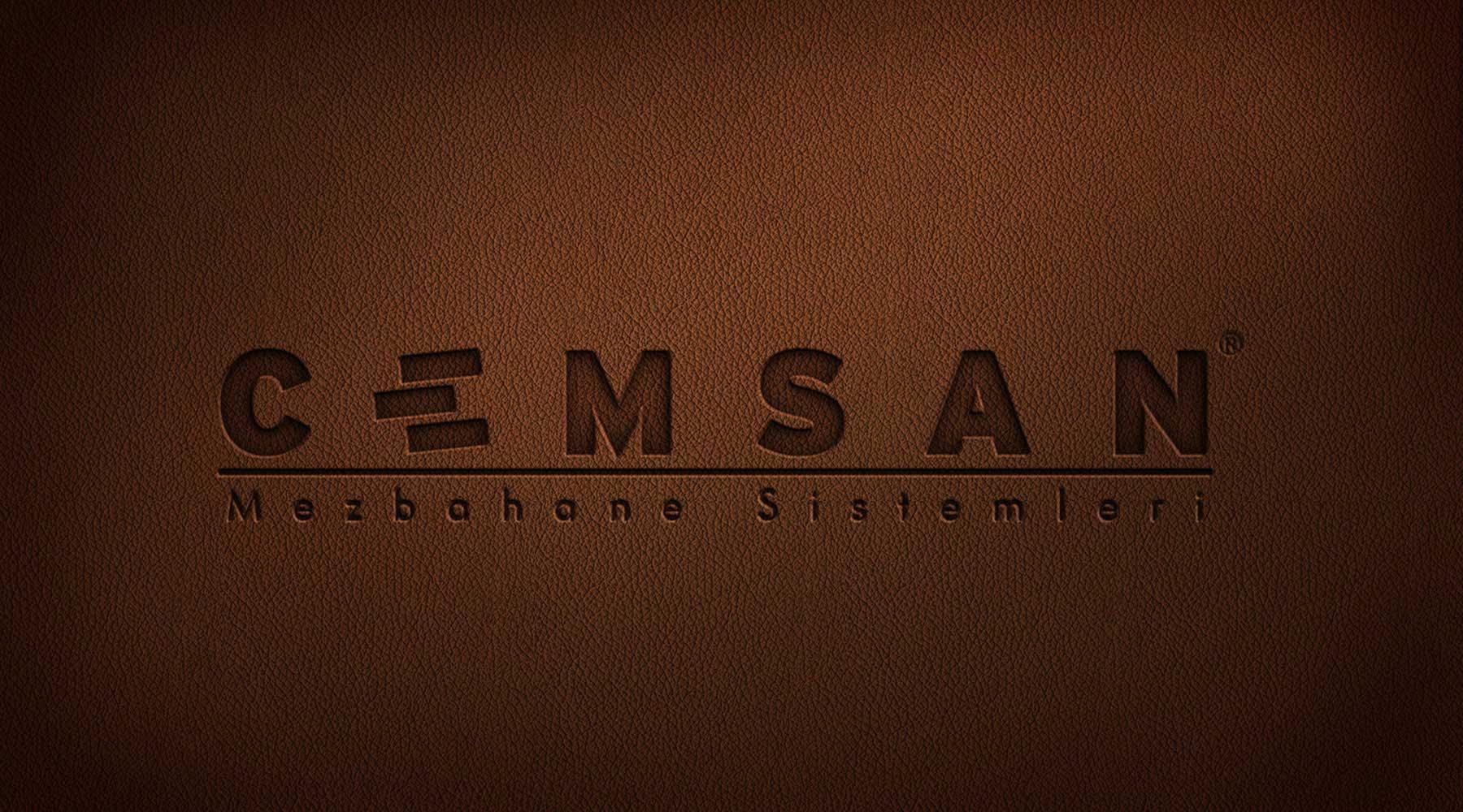 cemsan makina logo tasarımı eskişehir