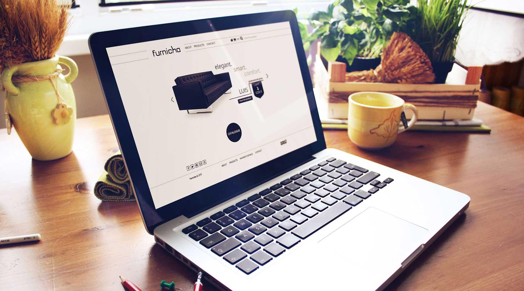 furnicha office furnitures web tasarım