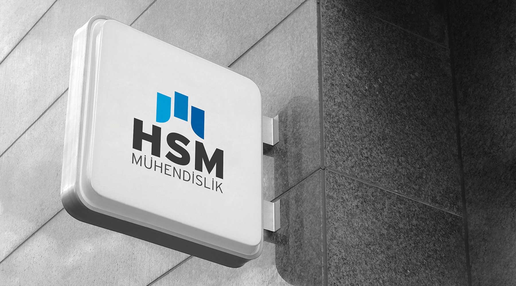 HSM Mühendislik logo tasarımı