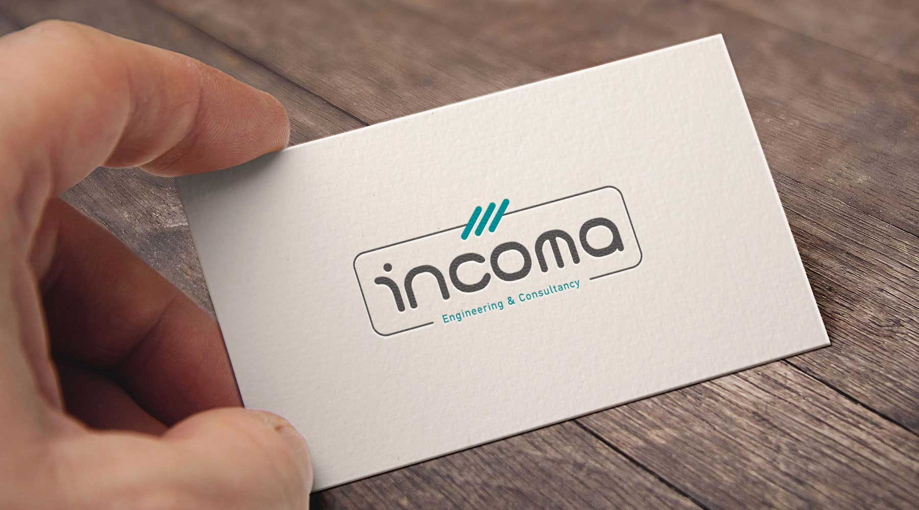 Incoma Engineering Consultancy logo tasarımı eskişehir