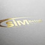 Sim Beton logo tasarımı