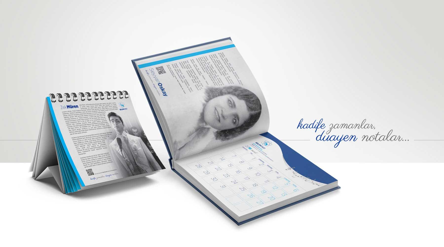 eskişehir reklam ajansı ajanda masa takvimi promosyon ürünler tasarım ve baskı