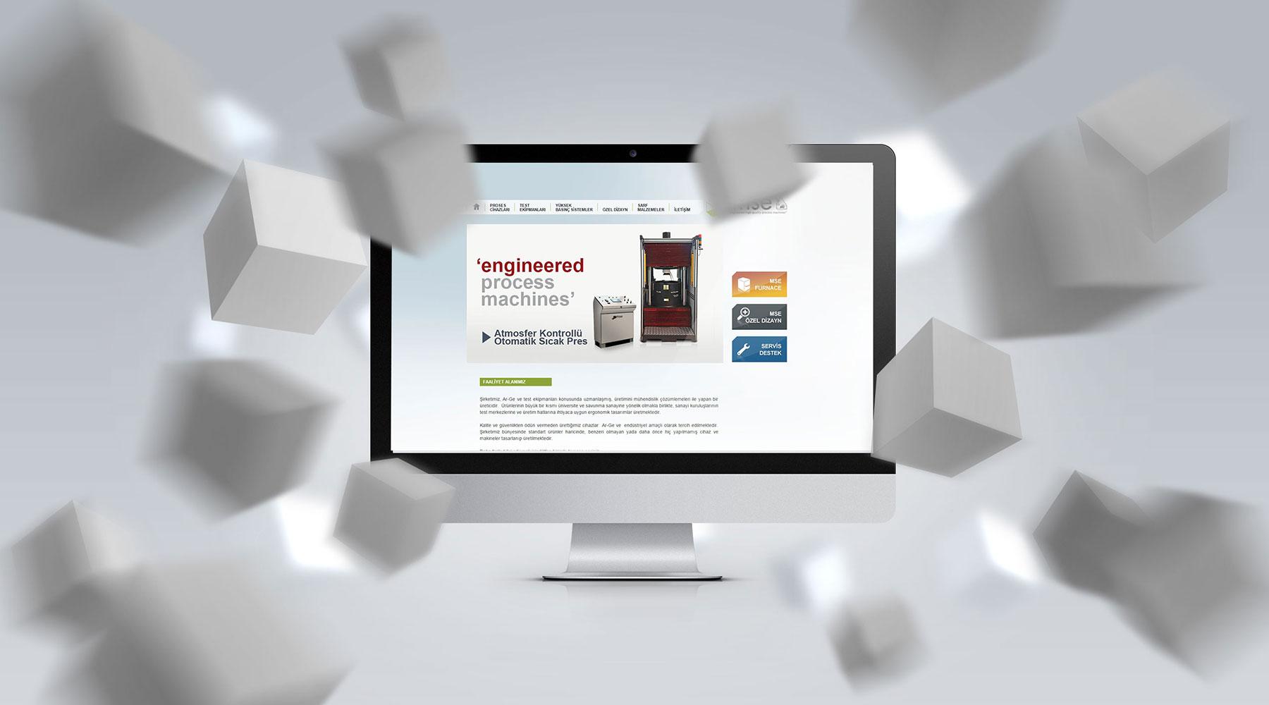 Mse Teknoloji web tasarım
