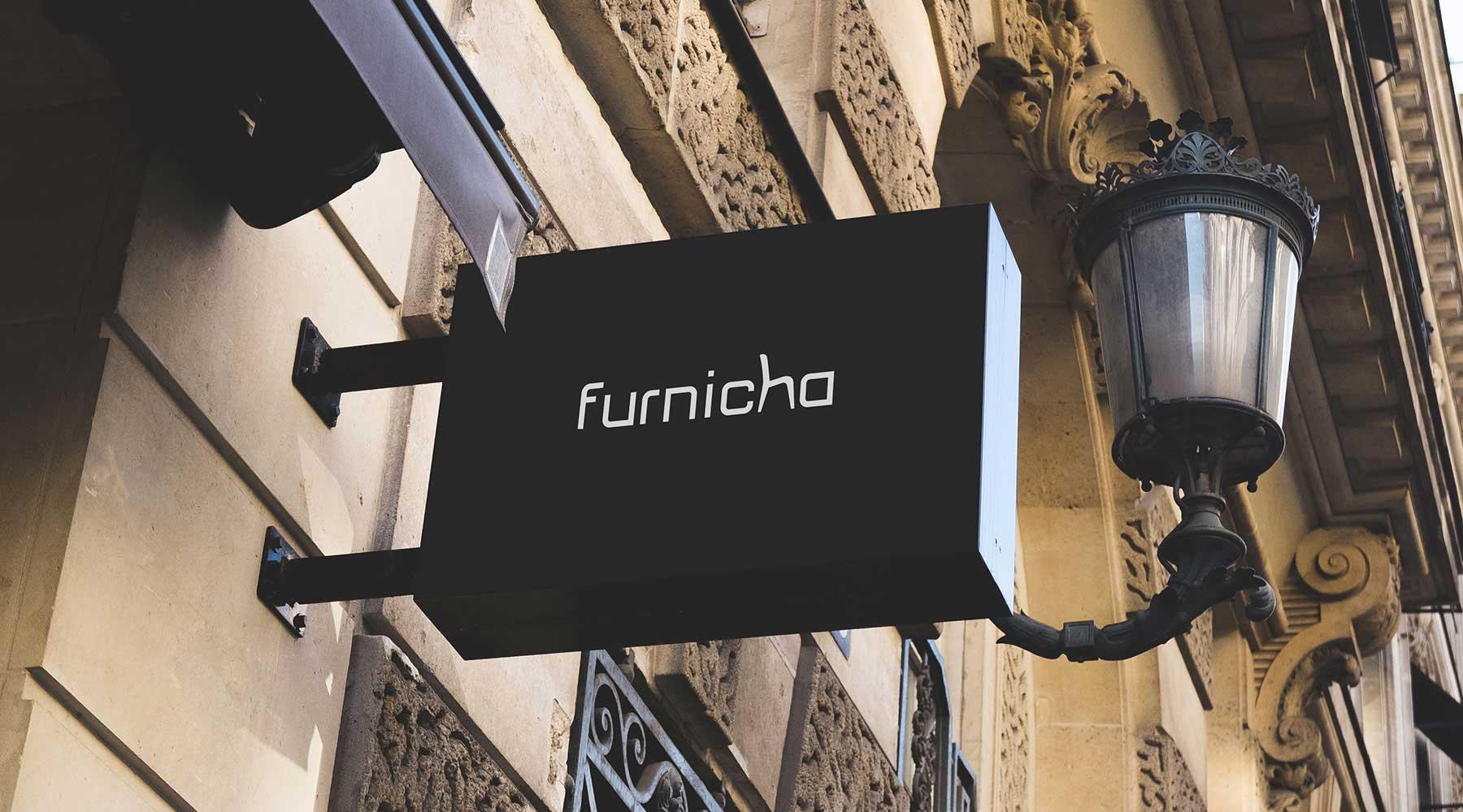 furnicha office furnitures logo tasarımı eskişehir