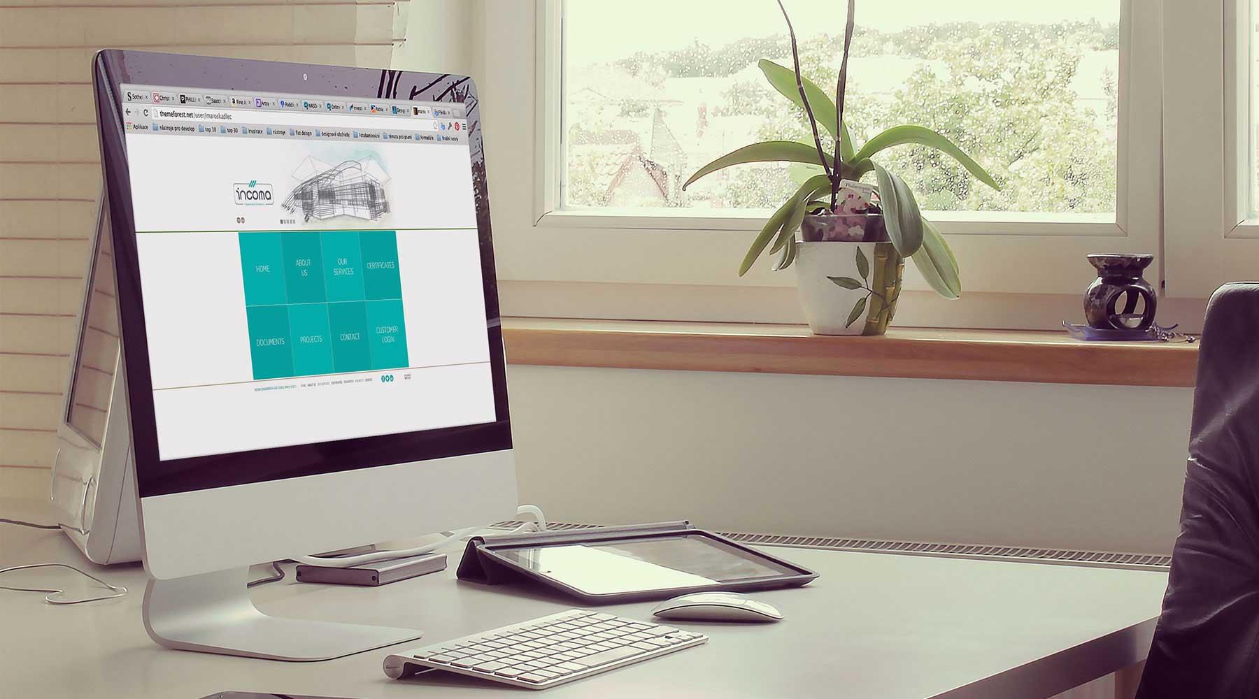 Incoma Engineering Consultancy web tasarım