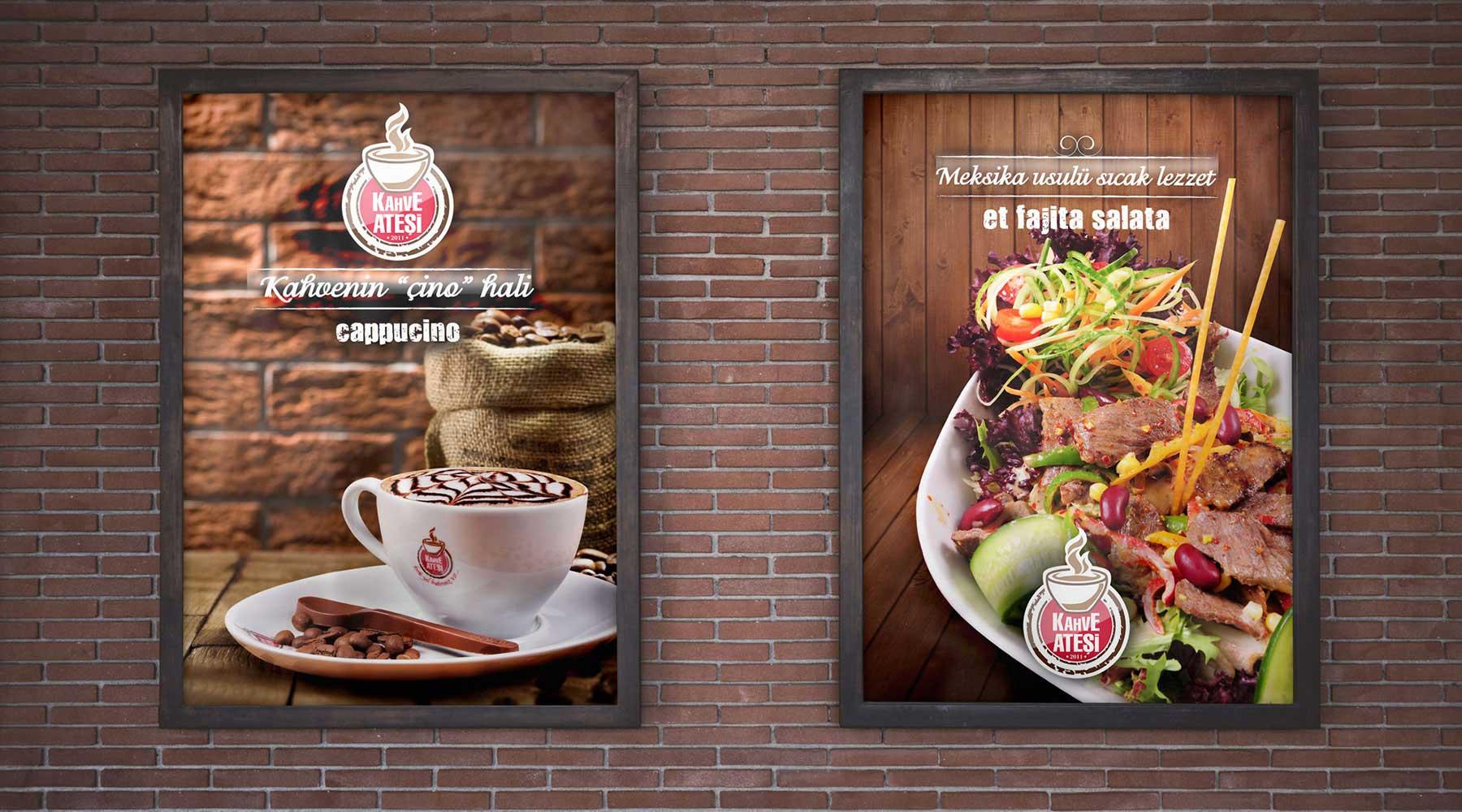 Kahve Ateşi poster tasarımı